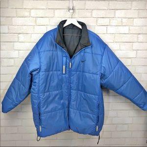 Nike Reversible Puffer Jacket Coat XXL